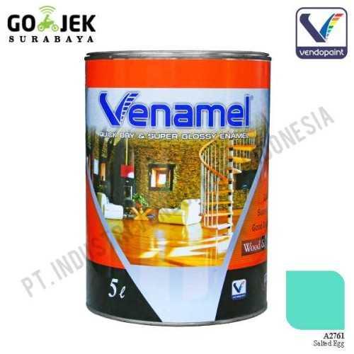 Venamel Kelas Medium Warna Salted Egg Netto 5 L ConstructionPaints And VarnishesWood Treatments