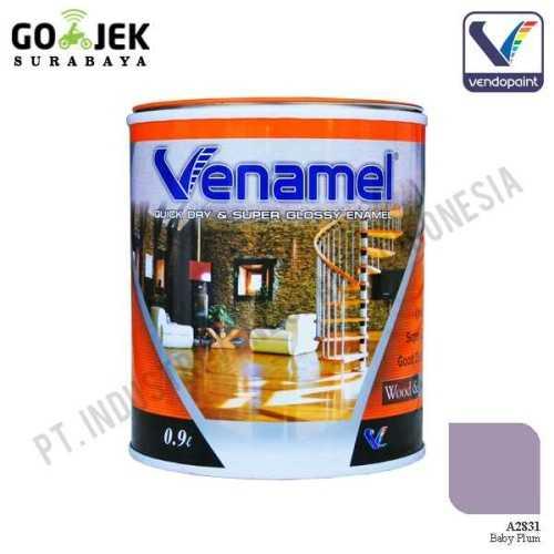 Foto produk  Venamel Kelas Medium Warna Baby Plum Netto 0,9 L di Arsitag