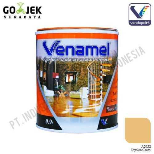 Venamel Kelas Medium Warna Soybean Choco Netto 0,9 L ConstructionPaints And VarnishesWood Treatments