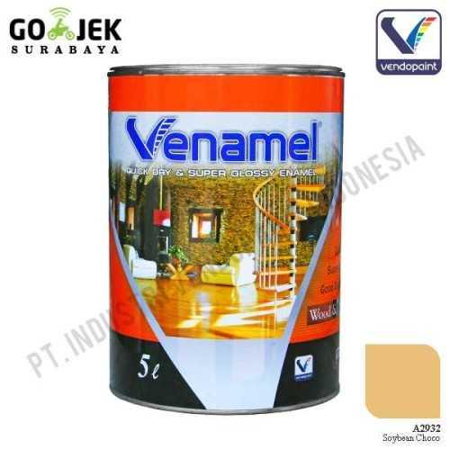 Venamel Kelas Medium Warna Soybean Choco Netto 5 L ConstructionPaints And VarnishesWood Treatments