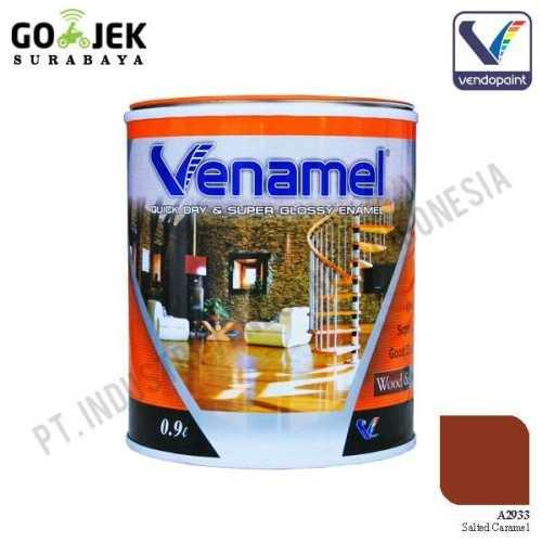 Venamel Kelas Medium Warna Salted Caramel Netto 0,9 L ConstructionPaints And VarnishesWood Treatments