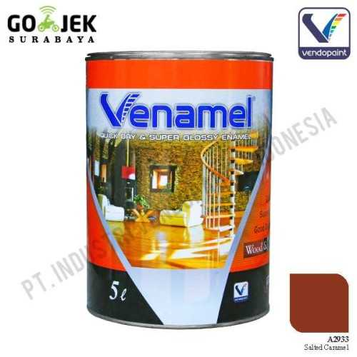 Venamel Kelas Medium Warna Salted Caramel Netto 5 L ConstructionPaints And VarnishesWood Treatments