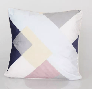 Cushion Cover Geo Design Cross Mix DécorTextiles And RugsCushions