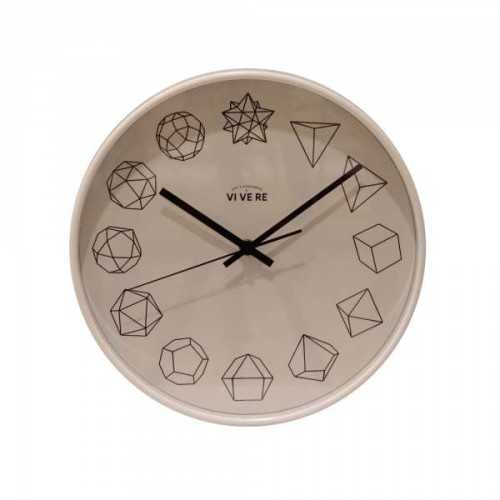 Foto produk  Wall Clock Shaped White Black di Arsitag