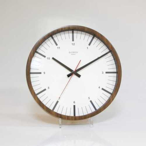 Foto produk  Wall Clock Wellington Brown White di Arsitag