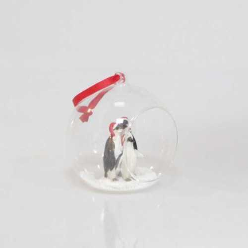 Decoration Glass Ball Penguin DécorHome DecorationsDecorative Objects