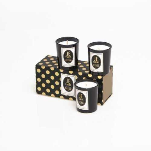 Votive Candle Dotty Trio DécorHome DecorationsCandles