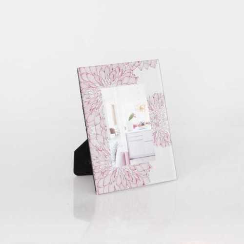 Photo Frame Standart Flower Mum Pink 4X6Inch DécorHome DecorationsFrames