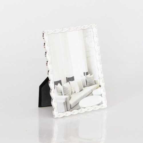 Photo Frame Standart Wavy Lace Sil 5X7Inch DécorHome DecorationsFrames