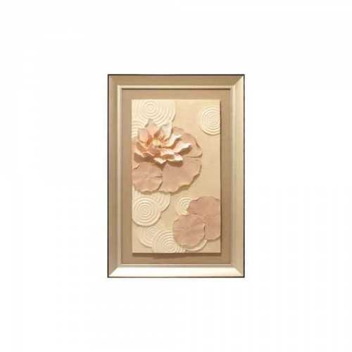 Wall Deco Floating Lotus Peach DécorHome DecorationsWall Decor Items