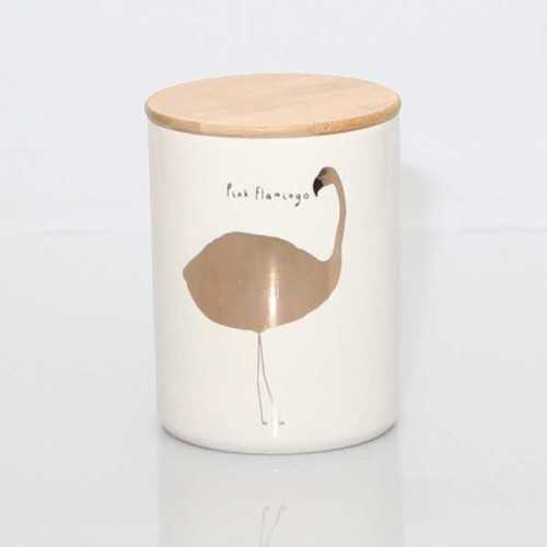 Jar Flamingo L DécorHome DecorationsDecorative Objects