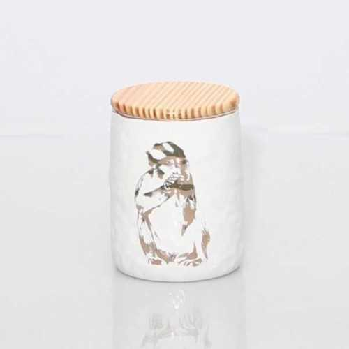 Jar Texture Animal DécorHome DecorationsDecorative Objects