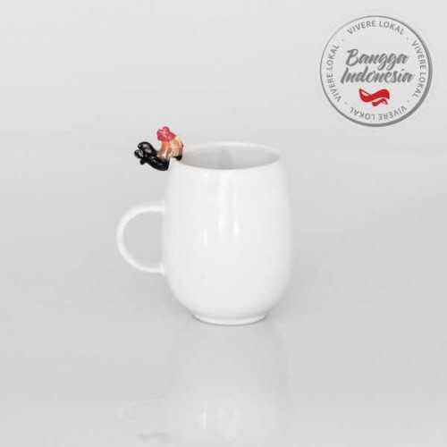 Mug Rooster White DécorHome DecorationsDecorative Objects