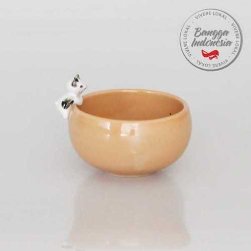 Foto produk  Bowl Cat Black White Orange di Arsitag
