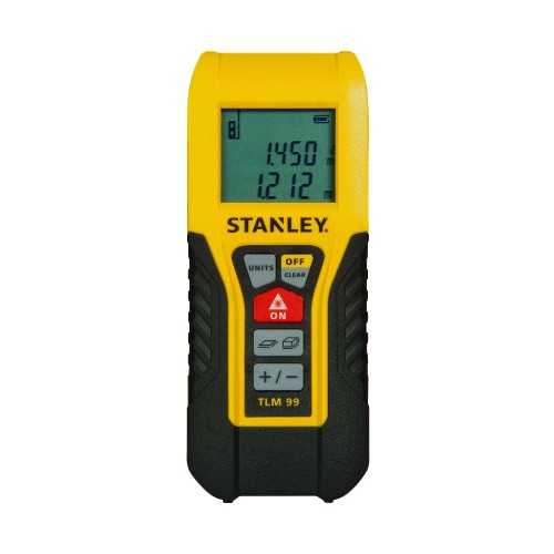 Stanley Tlm99 - True Laser Measure (30M) Stht1-77138 ConstructionConstruction Site Equipment And MachineryConstruction Site Tools And Equipment