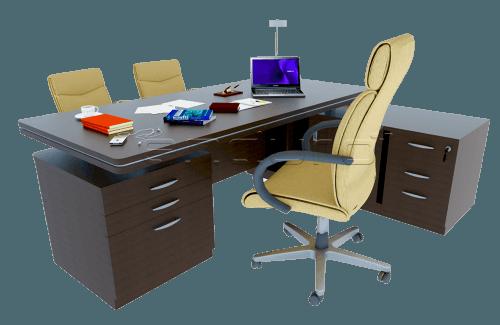 Luxurious Wood Director Desk OfficeOffice Desks