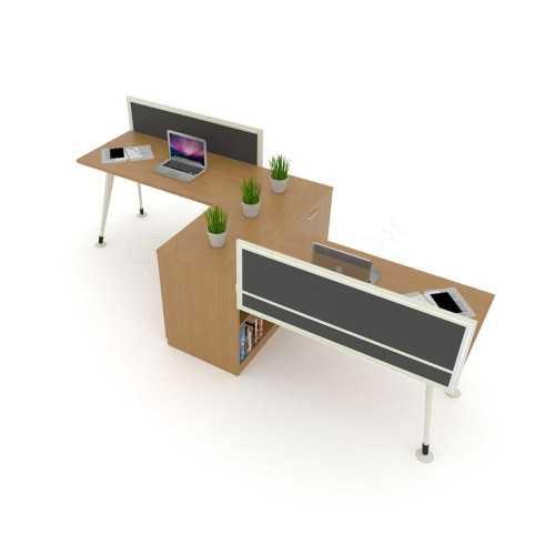 Foto produk  2 Staff Linear Workstation di Arsitag