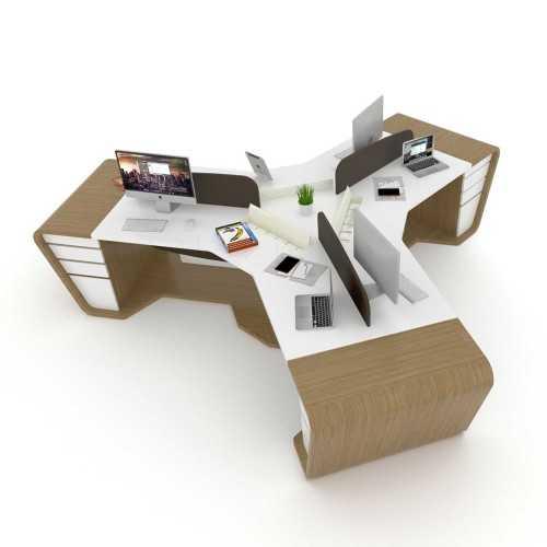 Tristar Bent Panel Workstation OfficeOffice Desks