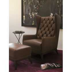 Arm Chair-Leather Hd 7826 FurnitureSofa And ArmchairsArmchairs