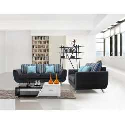 Fabric Sofa-1+2+3 Sofa(Hd2092Grey) FurnitureSofa And ArmchairsSofas