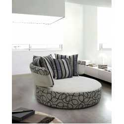 Fabric Sofa-Day Bed(Hd 2363) FurnitureSofa And ArmchairsDay Beds
