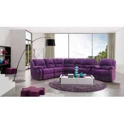 Recliner Sofa-Hd 7127 FurnitureSofa And ArmchairsSofas
