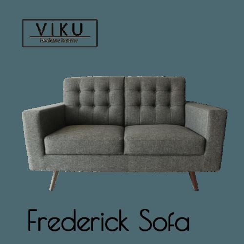 Sofa 2 Seat-Frederick Sofa 2S FurnitureSofa And ArmchairsSofas