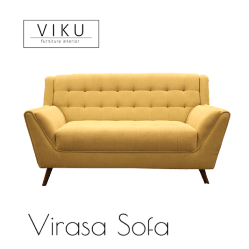 Sofa 2 Seater-Virasa Sofa 2S FurnitureSofa And ArmchairsSofas