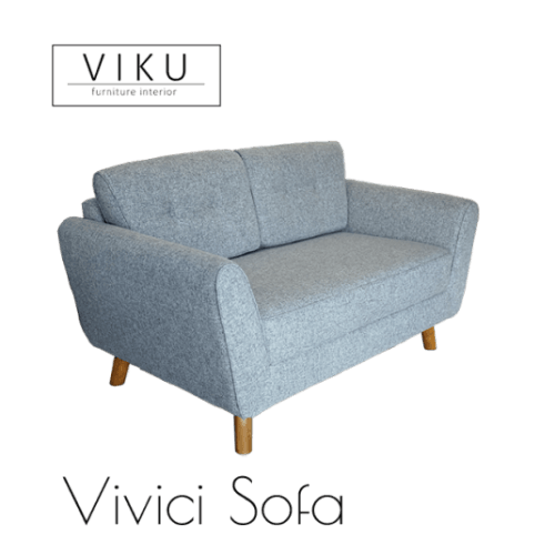 Sofa 2 Seater-Vivici Sofa FurnitureSofa And ArmchairsSofas