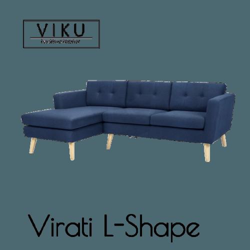 Sofa L-Virati L-Shape FurnitureSofa And ArmchairsSofas