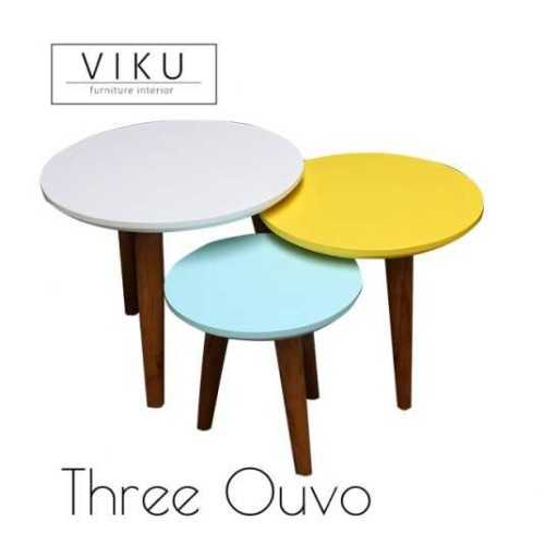 Coffee Table-Three Ouvo FurnitureTables And ChairsCoffee Tables