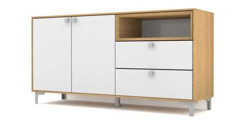Case Cabinet Set Type G White FurnitureStorage Systems And Units