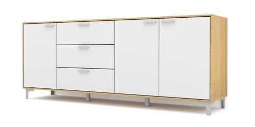 Foto produk  Case Cabinet Set Type E White di Arsitag