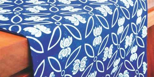 Foto produk  Dew Blue Table Runner Large di Arsitag
