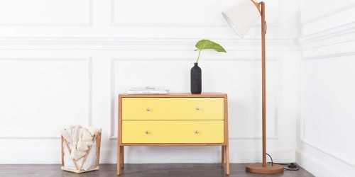 Neoteric Small Cabinet (Yellow) FurnitureStorage Systems And Units