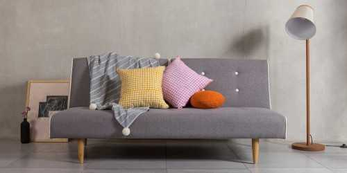 Plac Cushion Cover Square Pink DécorTextiles And RugsCushions