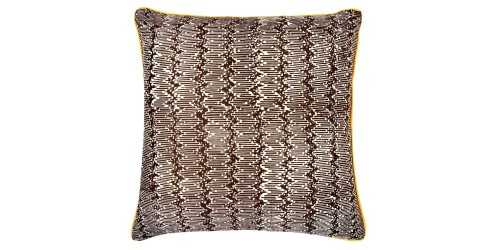 Hem Cushion Cover Brown Square DécorTextiles And RugsCushions