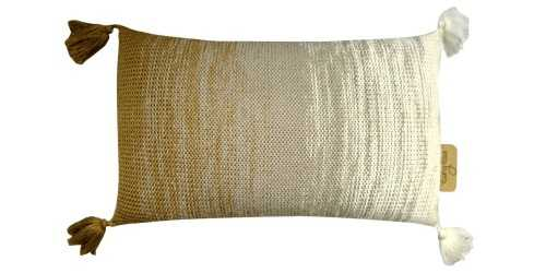 Travel Tassel Pillow Brown DécorTextiles And RugsCushions