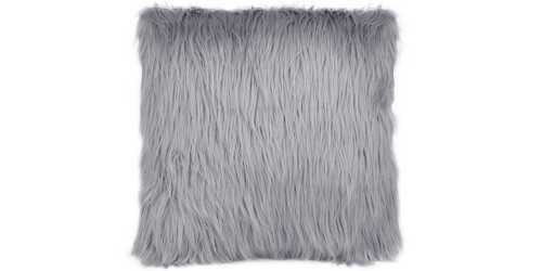 Fur Cushion Square Silver DécorTextiles And RugsCushions