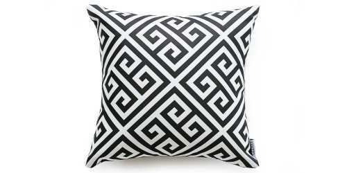 Maze Cushion Black DécorTextiles And RugsCushions