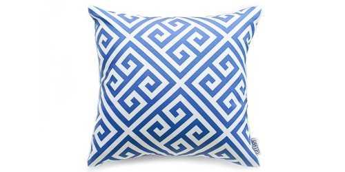Maze Cushion Blue DécorTextiles And RugsCushions