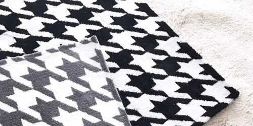 Houndstooth Rug Small DécorTextiles And Rugs
