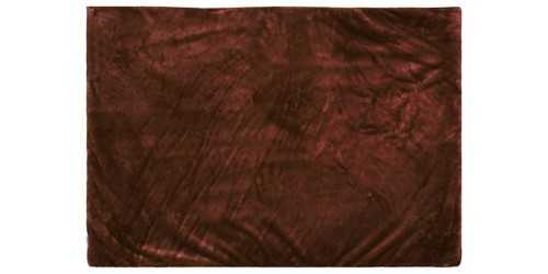 Chocolate Square Fur Rug Small DécorTextiles And Rugs