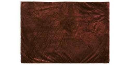 Chocolate Square Fur Rug Medium DécorTextiles And Rugs