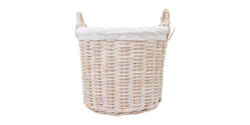 Luny Basket White - Large DécorStorage And Space Organization
