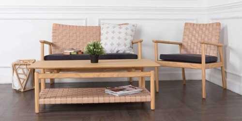 Seed 3 Seater Living Set FurnitureSofa And ArmchairsSofas