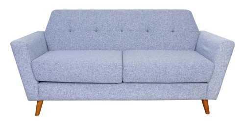 Hughes 3 Seater Sofa Set Grey FurnitureSofa And ArmchairsSofas