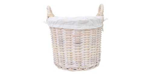 Luny Basket White - Medium DécorStorage And Space Organization