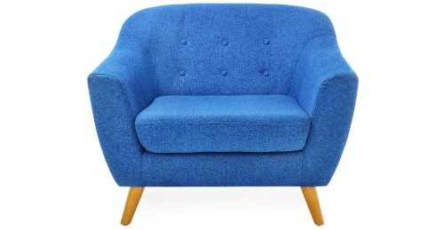 Jobi Sofa Set Blue Vienna FurnitureSofa And ArmchairsSofas