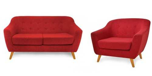 Jobi Sofa Set Ruby FurnitureSofa And ArmchairsSofas